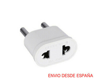 Adaptador de enchufe americano a europeo