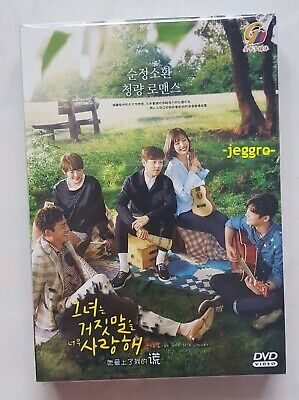 Korean Drama DVD The Liar and His Lover GOOD ENG SUB All Region FREE SHIPPING