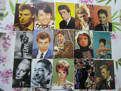 lot de 30 cartes postales artistes divers