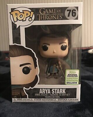 Funko Pop! Game of Thrones #76 Arya Stark ECCC 2019 Exclusive