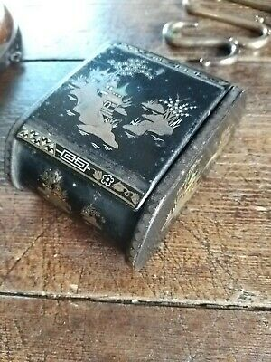 Vintage Antique Toleware Chinousorie Box