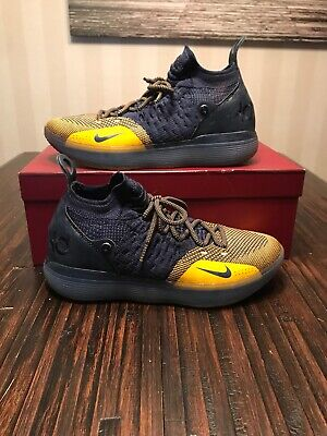 4bef387ca6f820 Nike Zoom KD11 Kevin Durant Chinese Zodiac Navy AO2604-400 Size 9.5