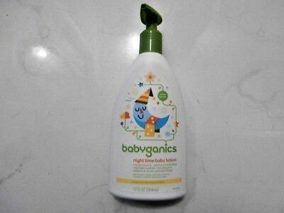 BabyGanics Smooth Moves Night Time Baby Lotion - Natural Orange Blossom- 12oz