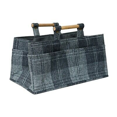 Burlington Crafters Carry Tote ~ Classic Tartan ~ Wool Storage ~ 190515