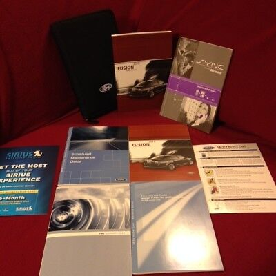 2010 Ford Expedition Owners Manual set with SYNC guide warranty guide and case