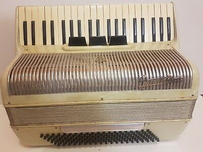 Vintage Frontalini Piano Accordion sn:14180 - Made in Italy