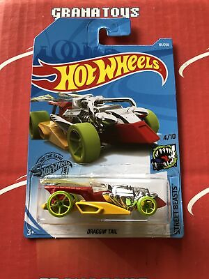 Draggin' Tail #191 2019 Hot Wheels Case K