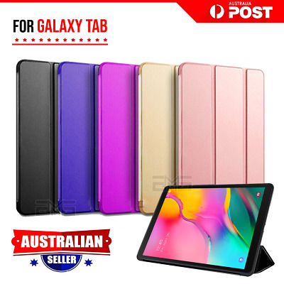 For Samsung Galaxy Tab A 10.1 2019 T510/515 Case Smart Folio Leather Flip Cover