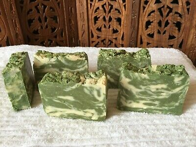 COCONUT MILK Handmade Bar Soap Ylang Ylang & Tuberose & Cedarwood Large 4.5 oz +