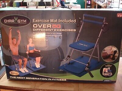 Chair Gym Total Body Workout As Seen On Tv Over 50 Workouts