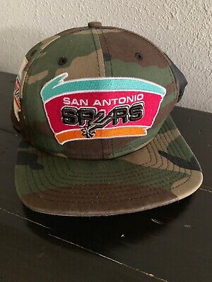 huge selection of 2b4da 60ba1 San Antonio Spurs NBA New Era 9FIFTY Camouflage Adjustable Snapback Cap Hat