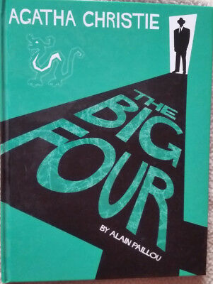 Agatha Christie The Big Four Graphic Novel Alain Paillou 2007 Hardback UK post