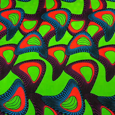 90200-8 African Print Fabric 100/% Cotton 44/'/' wide sold by the yard