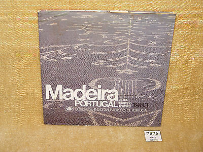Madeira Portugal 1983 Stamps Presentation Pack Mint Stamps Mnh 6 Values Rare