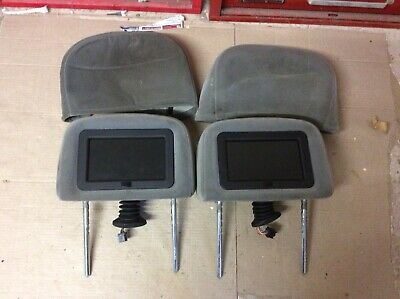 Pair Of Ford Galaxy Mk2 Genuine Factory Fitted Headrest Dvd Screens 00-06