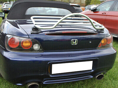 Honda S2000 Trunk Boot Luggage Rack ; No Clamps = No Damage