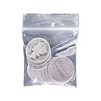 $1 Face Value Bag of U.S. Circulation 90% Pure Silver Coins