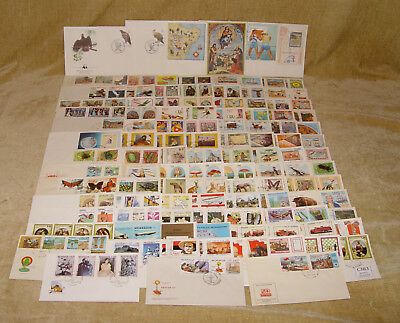 JOBLOT 113x ALL DIFFERENT FIRST DAY COVERS - LOTS OF THEMES - STAMP INTEREST FDC