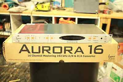 Lynx Aurora16 w/ AES/EBU & AVID HD I/O Card Installed - Mixing/Mastering Quality