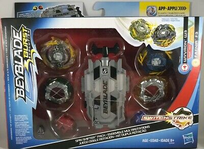 Beyblade Burst Evolution Spin Shifter Pack Switch Strike Wyvron W3 & Fafnir F3