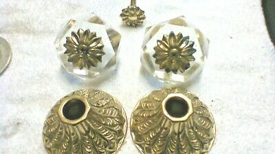 SPEAKMAN LAVATORY SET 1072 BRASS PB VINTAGE OPEN BOX VERY OLD Hollywood Regency