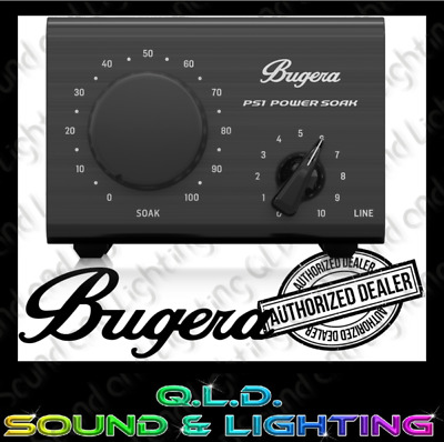 Bugera PS1 Power Soak 100w Amp Attenuator - In Stock - Brand New - FAST Shipping