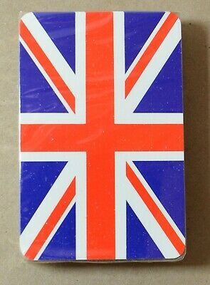 SEALED UNION JACK FLAG POKER PLAYING CARDS FULL DECK UK SELLER FREE P/&P