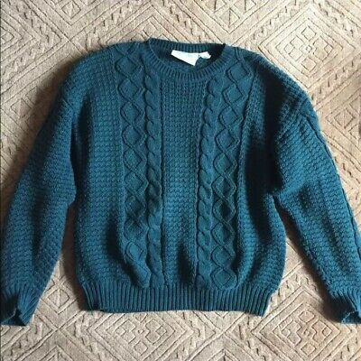Britches Great Outdoors Vintage Cableknit Pullover Sweater
