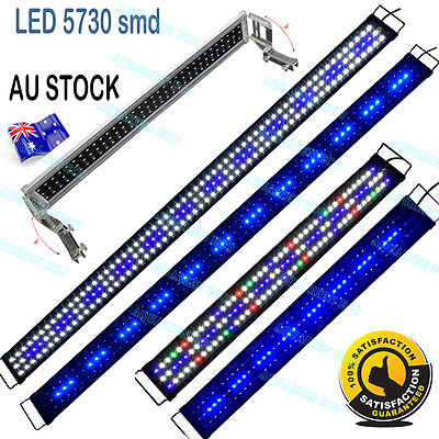 30-180cm FULL Spectrum Aquarium Fish Tank LED Light Fresh Marine Plant Lights