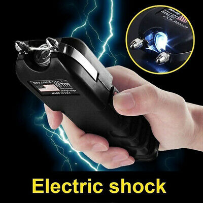 Outdoor LED Flashlight High-voltage Self-defense Rechargeable Electric Torch Hot