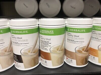 NEW  HERBALIFE FORMULA 1 HEALTHY MEAL SHAKE MIX 750g (ALL FLAVORS) Shipping free