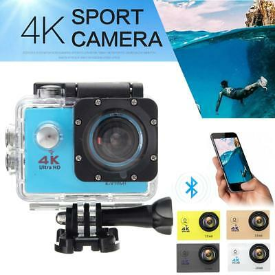 "4K Ultra SJ9000 Wifi Sport Action Camera 2.0"" DV 1080P HD Cam DVR Waterproof JS"