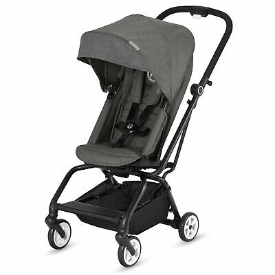 Cybex Eezy S Twist Stroller - From Birth to 17kg - Manhattan Grey