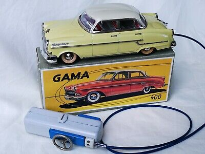 Gama no. 400 Opel Kapitän Remote Control Car Tin Toy Car Rare