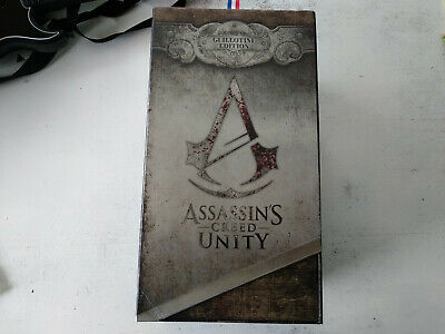 Boite + contenus Assassin's Creed Guillotine edition Sony Playstation PS4 FR