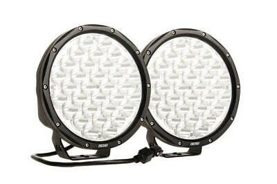 "Kings 9"" LED Driving Lights Pair LED Spot Round 9inch Black Work SUV"