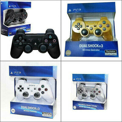UK Bluetooth Wireless Dualshock3 Controller Gamepad Joystick for PlayStation PS3