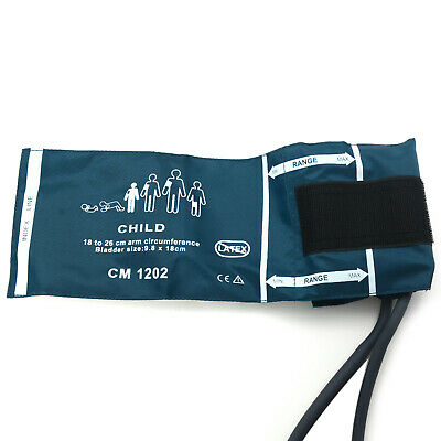 1PC Child Double-tube Blood Pressure Cuff for Patient Monitor arm cir:18-26cm