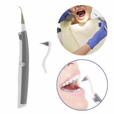 Electric Tooth Cleaner Teeth+LED Light Whitening Dental Cleaning System tool Kit
