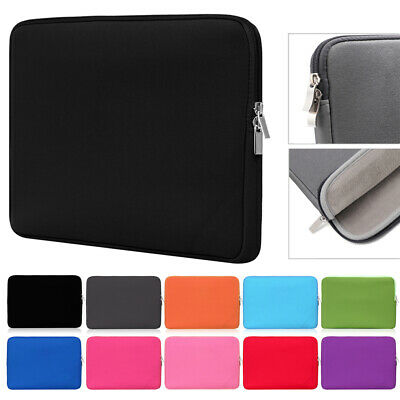 Laptop Bag Sleeve Case Cover Soft Briefcase For MacBook Air Pro Lenovo HP Dell