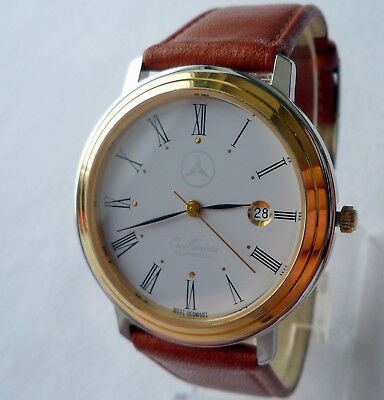 Mercedes Benz Vintage Classic Car Accessory Sport Made in West Germany Watch