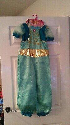 Girls Genie outfit size 6-8yrs (green)