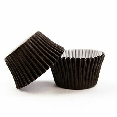 Chocolate Brown Cupcake Cases - Pack Qty 36,72,180 & 360 - Low As £0.02/case