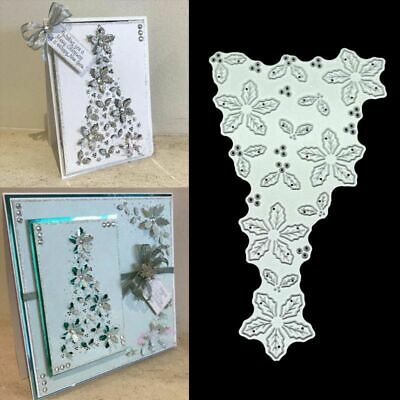DIY Hollow Flowers Metal Cutting Dies Stencil Scrapbooking Photo Album Crafts