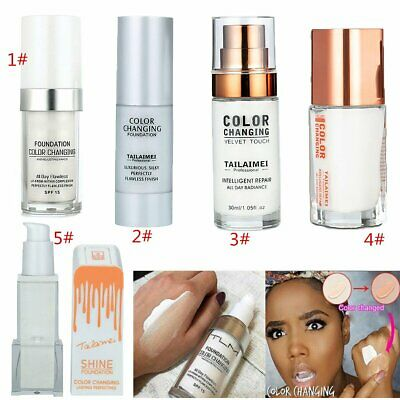New TLM Magic Color Changing Foundation Change To Your Skin Tone By Blending PQ
