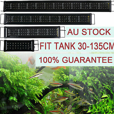 LED Aquarium LED Lighting 1ft/2ft/3ft/4ft Marine Aqua Blue/White Fish Tank Light