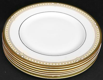 """Royal Doulton Lichfield ~ Set Of FOUR 9"""" Dinner / Side Plates ~ BRAND NEW FIRST"""