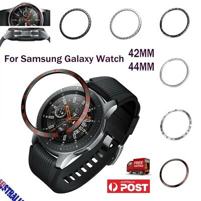 For Samsung Galaxy Watch 42MM Bezel Ring Adhesive Cover Anti Scratch Metal Hot