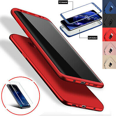 Luxury Ultra Slim Shockproof Rubber Case Cover for Samsung Galaxy S7 Edge S8 UK
