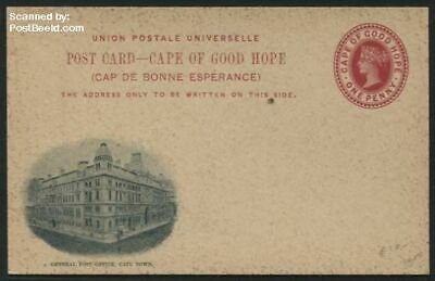 Cape of Good Hope 1898 Ill> Postcard, general Post Office skgwp15-01